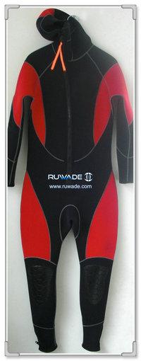 Capuz zip frente neopreno wetsuits completo -001