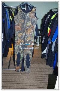 Camo long john wetsuit -001