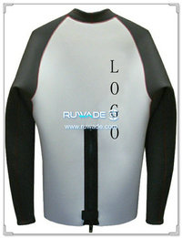 Long sleeve neoprene jacket/top -001-1