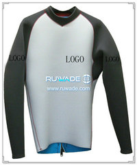 Long sleeve neoprene jacket/top -001