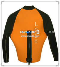 Long sleeve neoprene jacket/top -005-1