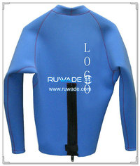 Long sleeve neoprene jacket/top -011-1