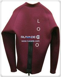 Manica lunga giacca in neoprene/top -016