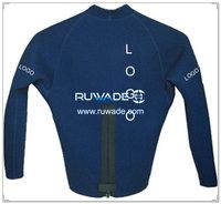 Long sleeve neoprene jacket/top -017-1