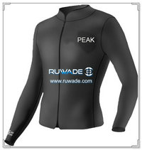 Long sleeve neoprene jacket/top -021-1