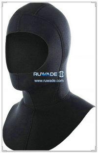 Neoprene scuba diving wetsuit hood -021-1