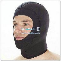 氯丁橡胶潜水潜水头套 -022