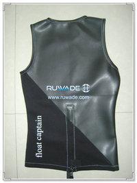 Neoprene wetsuit vest -012