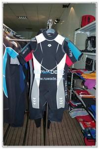 Neoprene short john wetsuit -002