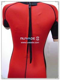 Short sleeve full wetsuit -001-4