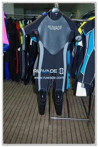 Short sleeve full surfing wetsuit -002