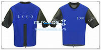 Short sleeve neoprene jacket/top -001