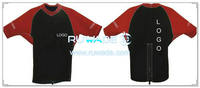 Short sleeve neoprene jacket/top -008