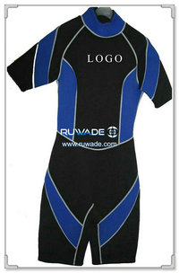 shorty-windsurfing-surfing-wetsuit-back-zipper-rwd011