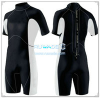 Shorty windsurfing surfing wetsuit with back zipper -027