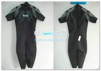 Shorty surfing wetsuit with back zipper -031