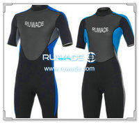 Shorty windsurfing wetsuit with back zipper -033