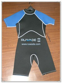 Shorty wetsuit with back zipper -036
