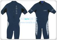Shorty wetsuit with back zipper -041