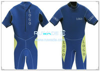 Back zipper shorty windsurfing wetsuit -044