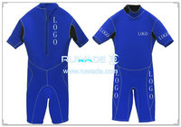 Back zipper shorty windsurfing wetsuit -045