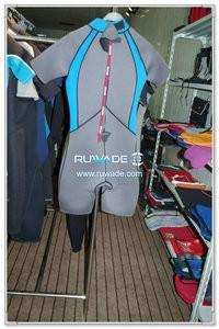 Back zipper shorty windsurfing wetsuit -049-2