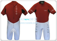 Shorty windsurfing back zipper wetsuit -050