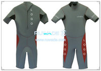 Shorty wetsuit with back zipper -054