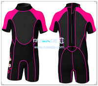 Shorty windsurfing wetsuit with back zipper -062