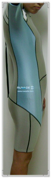 Shorty windsurfing wetsuit with back zipper -066-1