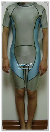 Shorty windsurfing wetsuit with back zipper -066-2