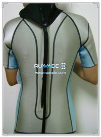 Shorty windsurfing wetsuit with back zipper -066-4