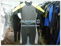 Shorty surfing back zipper wetsuit -067-1