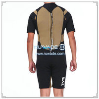 Shorty surfing back zipper wetsuit -070-2