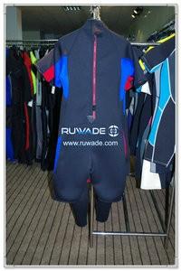 Shorty surfing back zipper wetsuit -074-2
