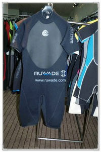Shorty windsurfing wetsuit with back zipper -084-1