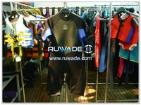 Shorty windsurfing wetsuit with back zipper -084-3