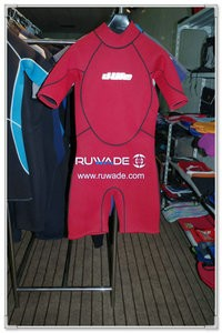 Back zipper shorty windsurfing wetsuit -088