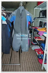 Men shorty wetsuit with back zipper -091