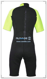 Shorty surfing wetsuit with back zipper -097