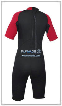 Shorty surfing wetsuit with back zipper -097-17