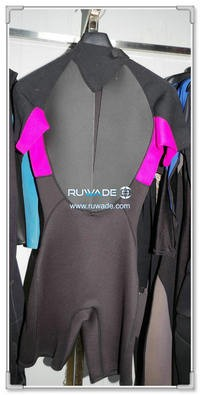 Wind surfing shorty wetsuits with back zipper -104