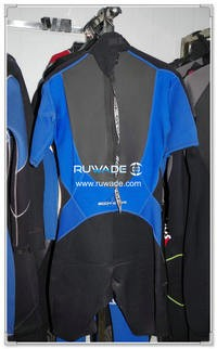 Wind surfing shorty wetsuits with back zipper -105
