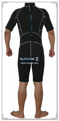 Shorty surfing wetsuit with back zipper -106-2