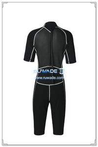 Shorty surfing wetsuit with back zipper -107-02