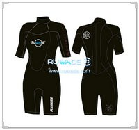 3mm neoprene short sleeve shorty wetsuits -109