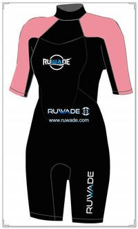 3mm neoprene short sleeve shorty wetsuits -110
