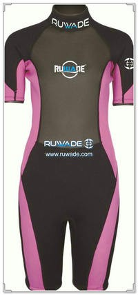 3mm neoprene short sleeve shorty wetsuits -111