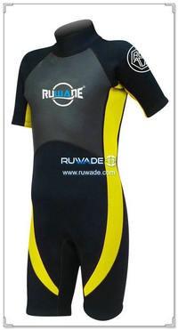 neoprene short sleeve shorty wetsuits -115