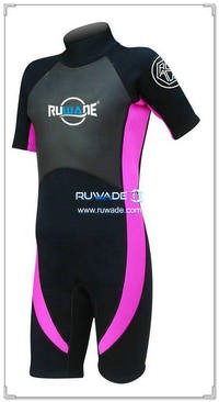 neoprene short sleeve shorty wetsuits -115